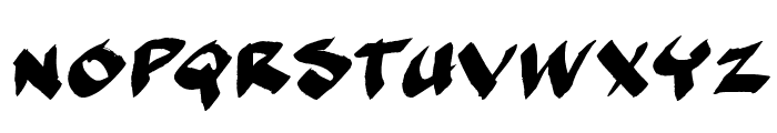 MarkerMoeII Font UPPERCASE