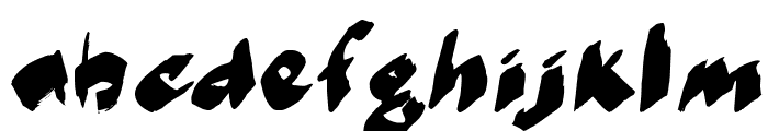 MarkerMoeII Font LOWERCASE