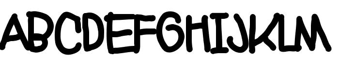Markera Font UPPERCASE