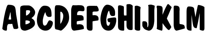 Market Bold Font UPPERCASE