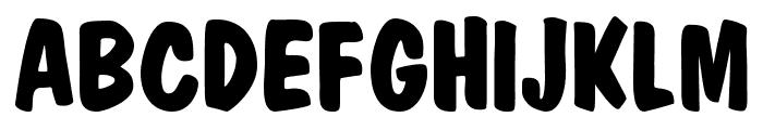 MarketBold Font UPPERCASE