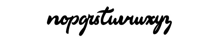 Markinson Font LOWERCASE