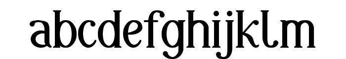 Markofontina Font LOWERCASE