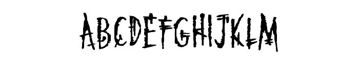 MarkoftheBeastBB Font UPPERCASE