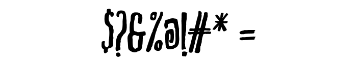 Markus Ink Font OTHER CHARS