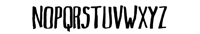 Markus Ink Font LOWERCASE