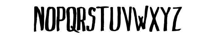 MarkusInk Font UPPERCASE