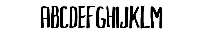 MarkusInk Font LOWERCASE
