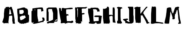 MarkyMarker Font UPPERCASE