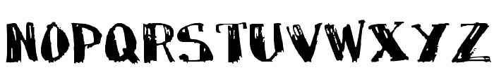 MarkyMarker Font LOWERCASE