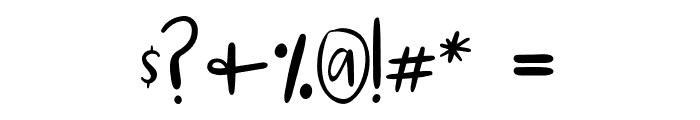 Marley Regular Font OTHER CHARS