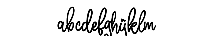 Marline Font LOWERCASE