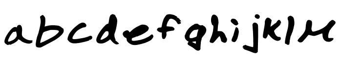 Marlon Regular Font LOWERCASE