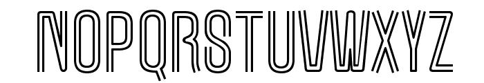 MarqueeMoon-Regular Font LOWERCASE