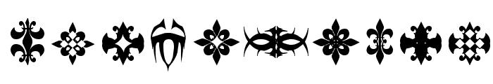 Marquis De Sade Ornaments Font OTHER CHARS