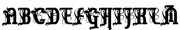 Marquis De Sade Font UPPERCASE