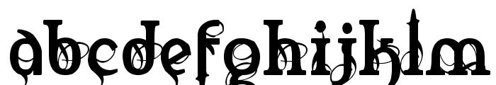 Marquis De Sade Font LOWERCASE