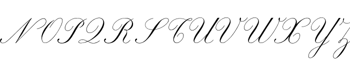 Marriage Moment Personal Use Font UPPERCASE