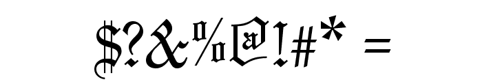 Marriage Font OTHER CHARS