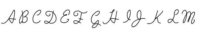 MarsLovesVenus Font UPPERCASE