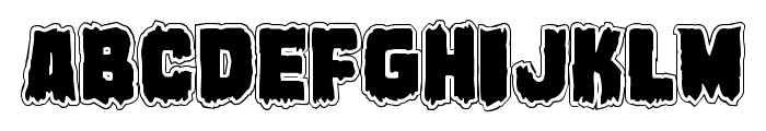Marsh Thing Academy Font LOWERCASE