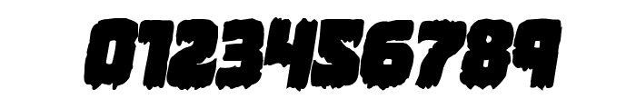 Marsh Thing Bold Italic Font OTHER CHARS