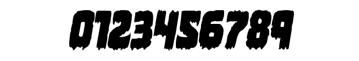 Marsh Thing Condensed Italic Font OTHER CHARS