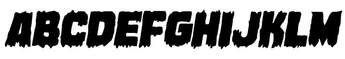 Marsh Thing Italic Font LOWERCASE