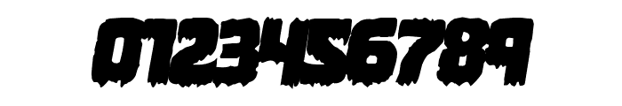 Marsh Thing Overlap Italic Font OTHER CHARS