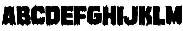 Marsh Thing Regular Font LOWERCASE