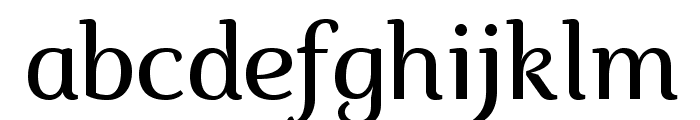 Marta-Italic Font LOWERCASE