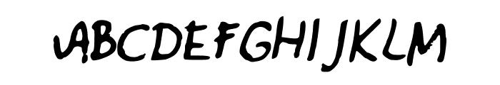 MartavanEck_Font Font UPPERCASE