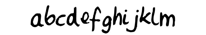 MartavanEck_Font Font LOWERCASE
