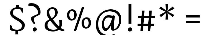 Martel DemiBold Font OTHER CHARS
