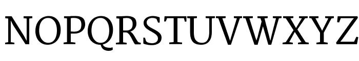 Martel DemiBold Font UPPERCASE