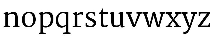 Martel DemiBold Font LOWERCASE