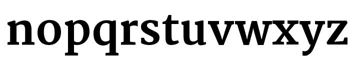 Martel ExtraBold Font LOWERCASE