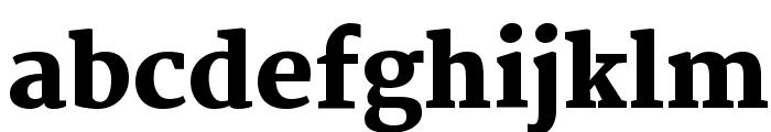 Martel Heavy Font LOWERCASE