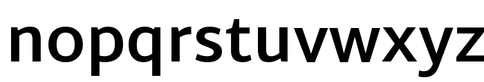 Martel Sans Bold Font LOWERCASE