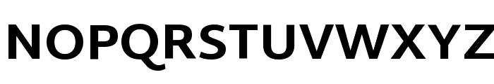 Martel Sans ExtraBold Font UPPERCASE