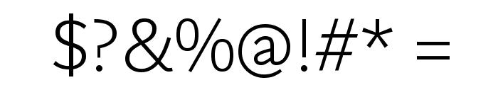 Martel Sans ExtraLight Font OTHER CHARS