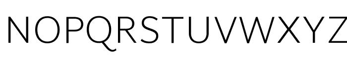 Martel Sans ExtraLight Font UPPERCASE