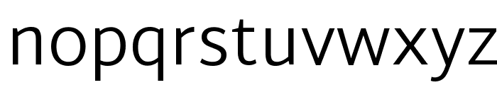 Martel Sans Light Font LOWERCASE