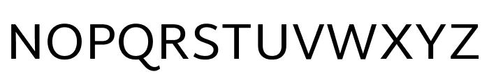 Martel Sans Regular Font UPPERCASE
