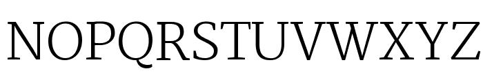 Martel UltraLight Font UPPERCASE