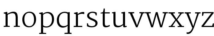 Martel UltraLight Font LOWERCASE