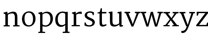 Martel Font LOWERCASE