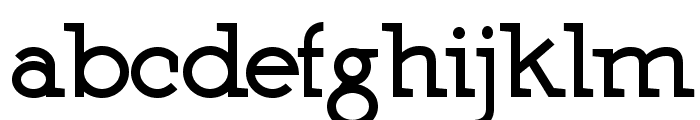 Martell Black Font LOWERCASE