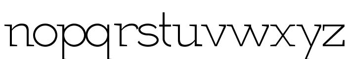 Martell  Light Font LOWERCASE