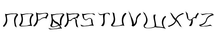 Martians spacewarped my dad Font UPPERCASE